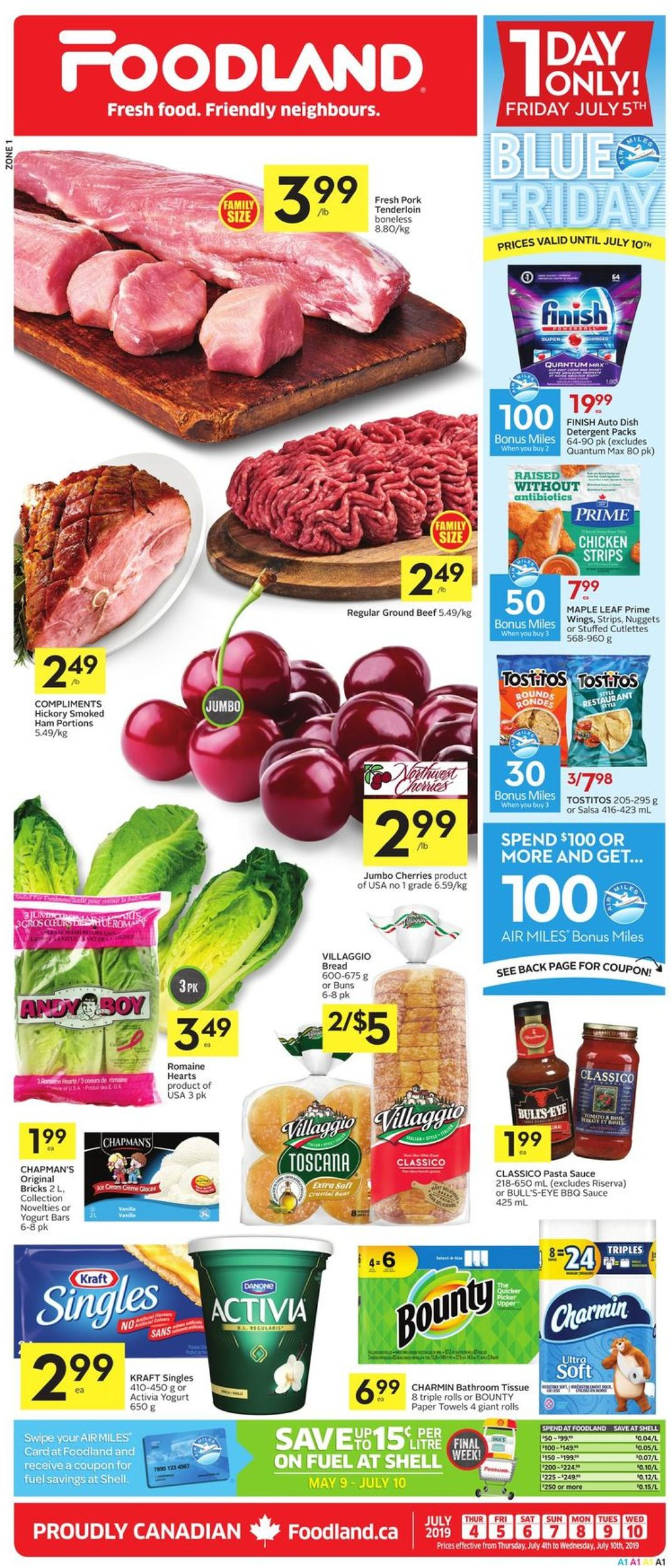 Foodland Flyer - 07/04-07/10/2019