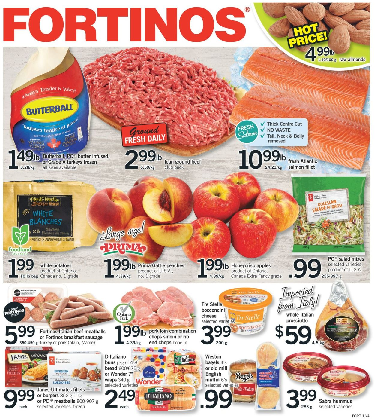 Fortinos Flyer - 09/26-10/09/2019