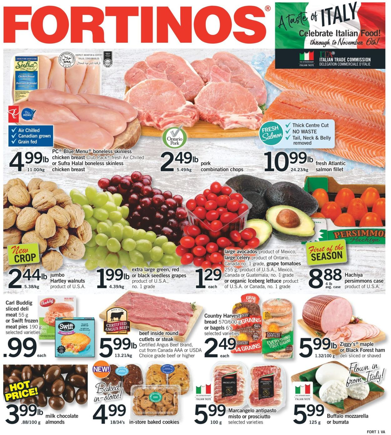 Fortinos Flyer - 10/17-10/23/2019