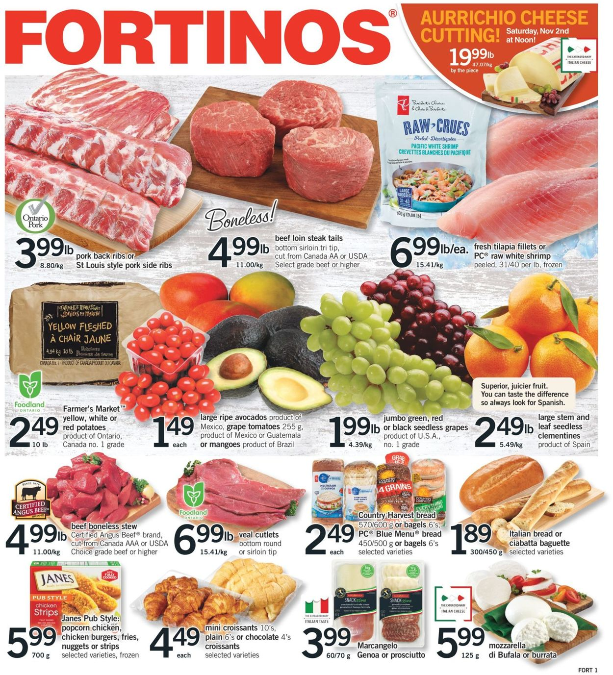 Fortinos Flyer - 10/31-11/06/2019