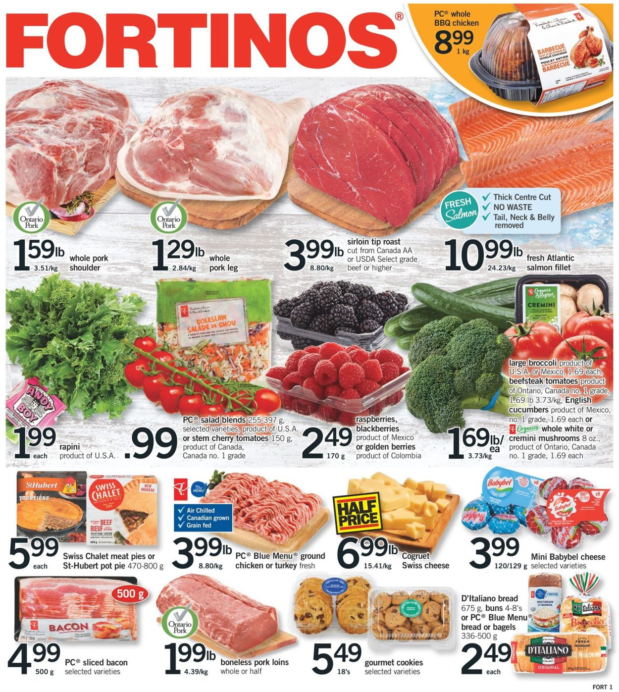 Fortinos Flyer - 01/09-01/15/2020