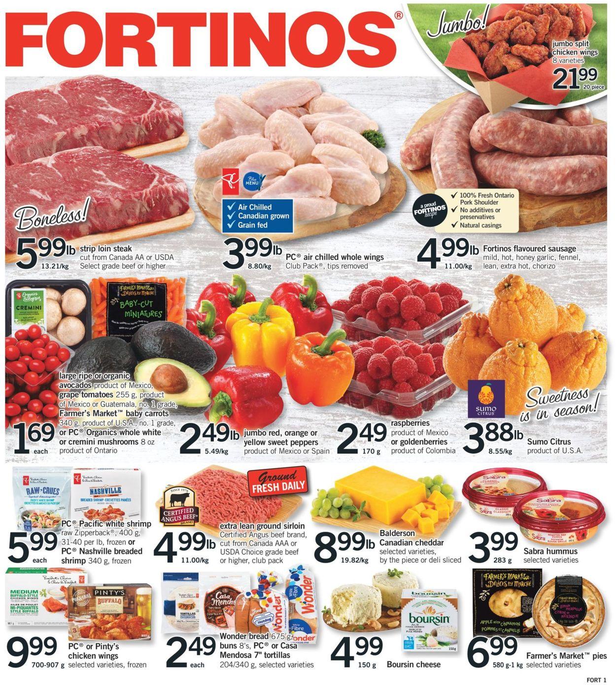Fortinos Flyer - 01/30-02/05/2020