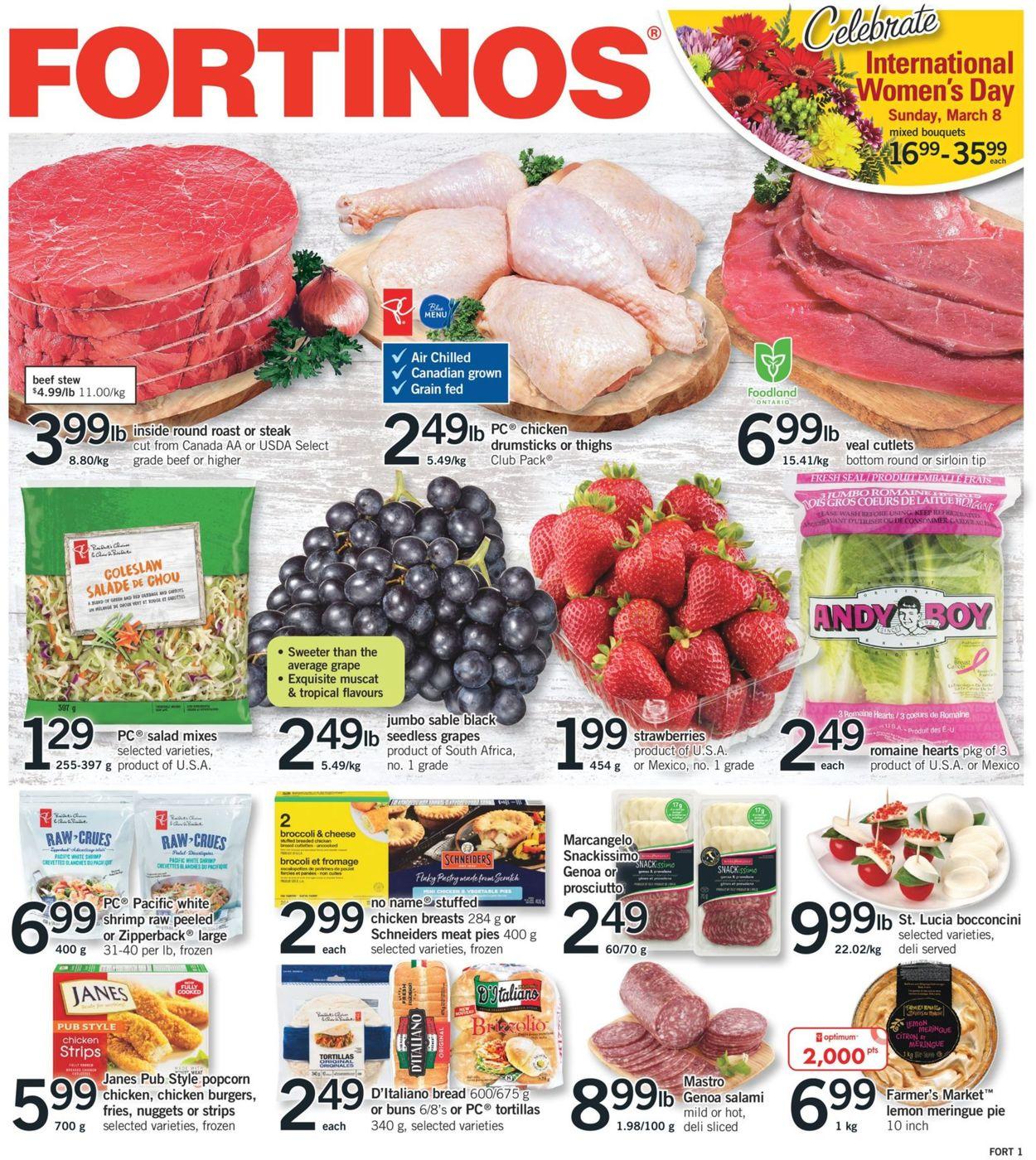Fortinos Flyer - 03/05-03/11/2020