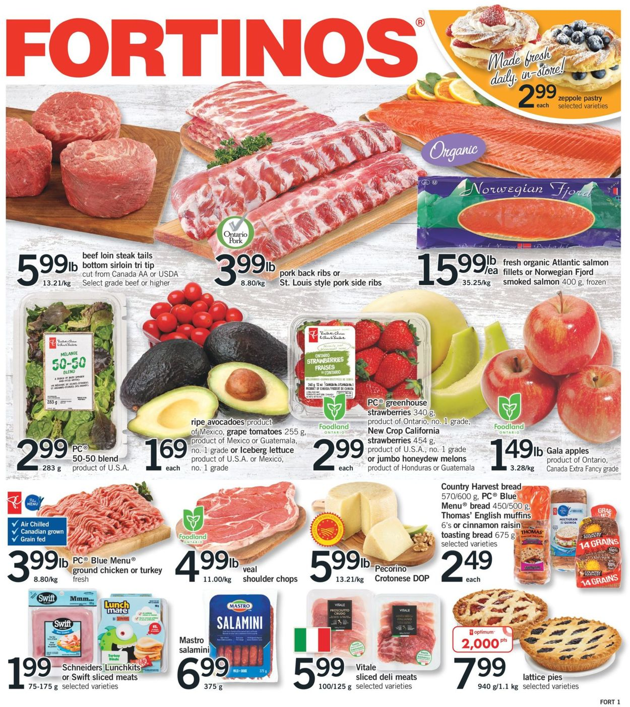 Fortinos Flyer - 03/19-03/25/2020