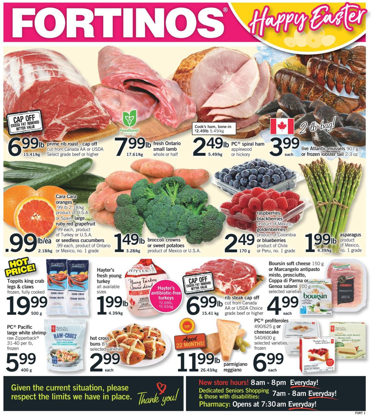 Fortinos Flyer - 04/02-04/08/2020