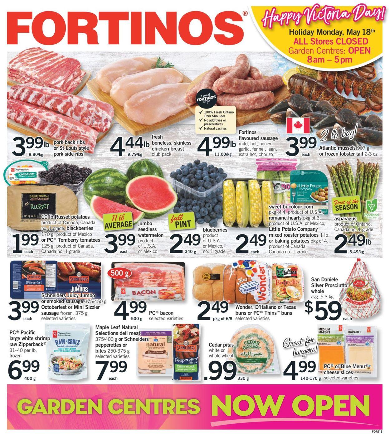 Fortinos Flyer - 05/14-05/20/2020