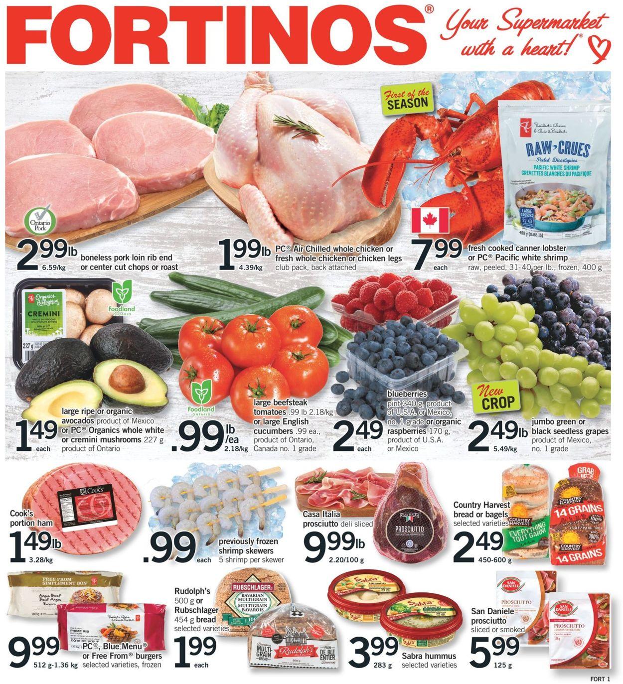 Fortinos Flyer - 05/28-06/03/2020
