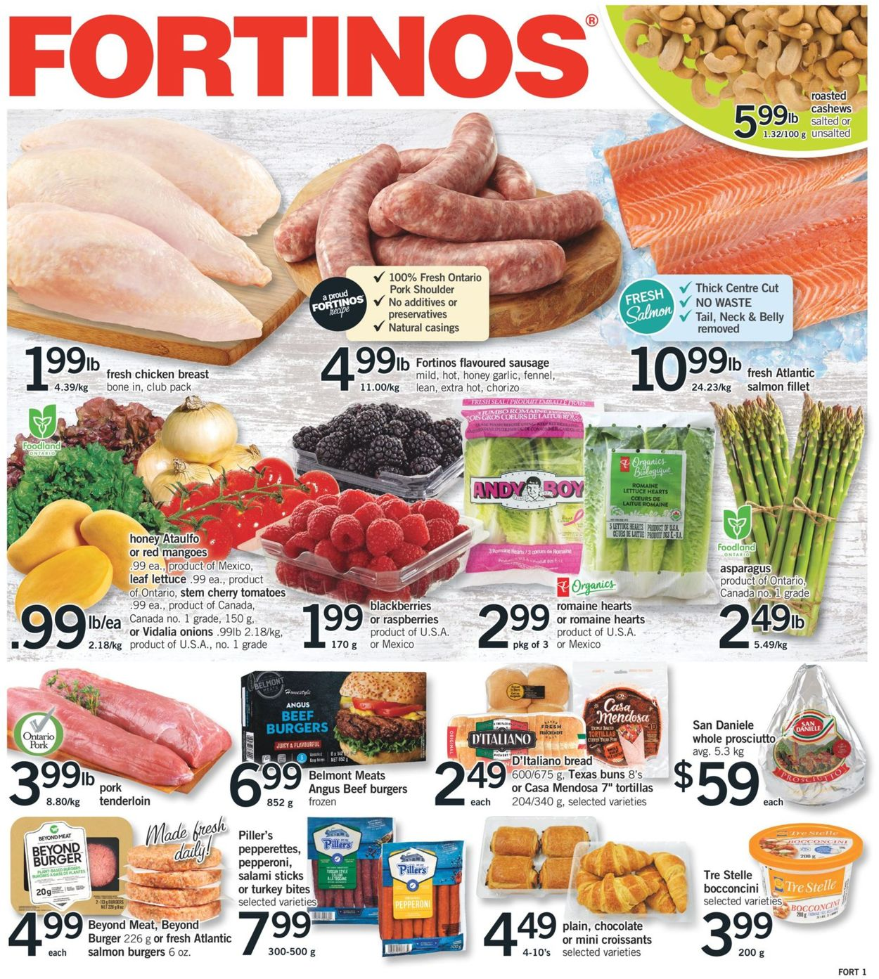 Fortinos Flyer - 06/04-06/10/2020