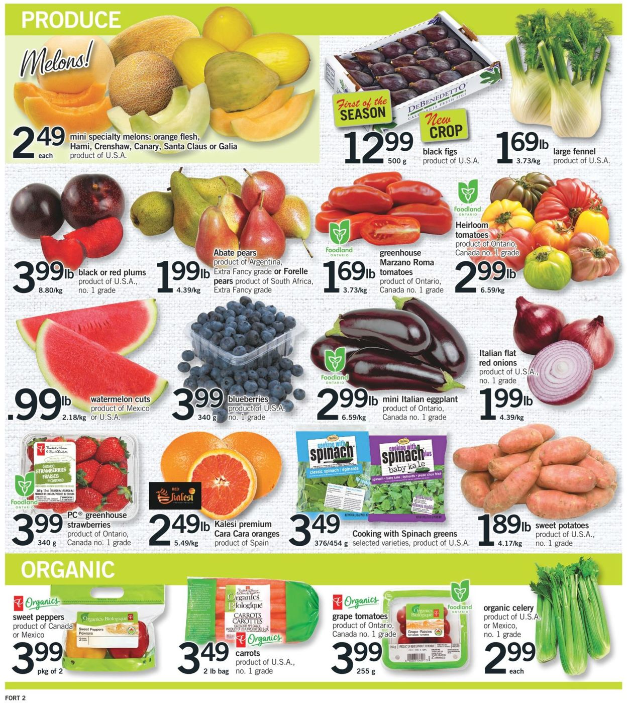 Fortinos Flyer - 06/04-06/10/2020 (Page 3)