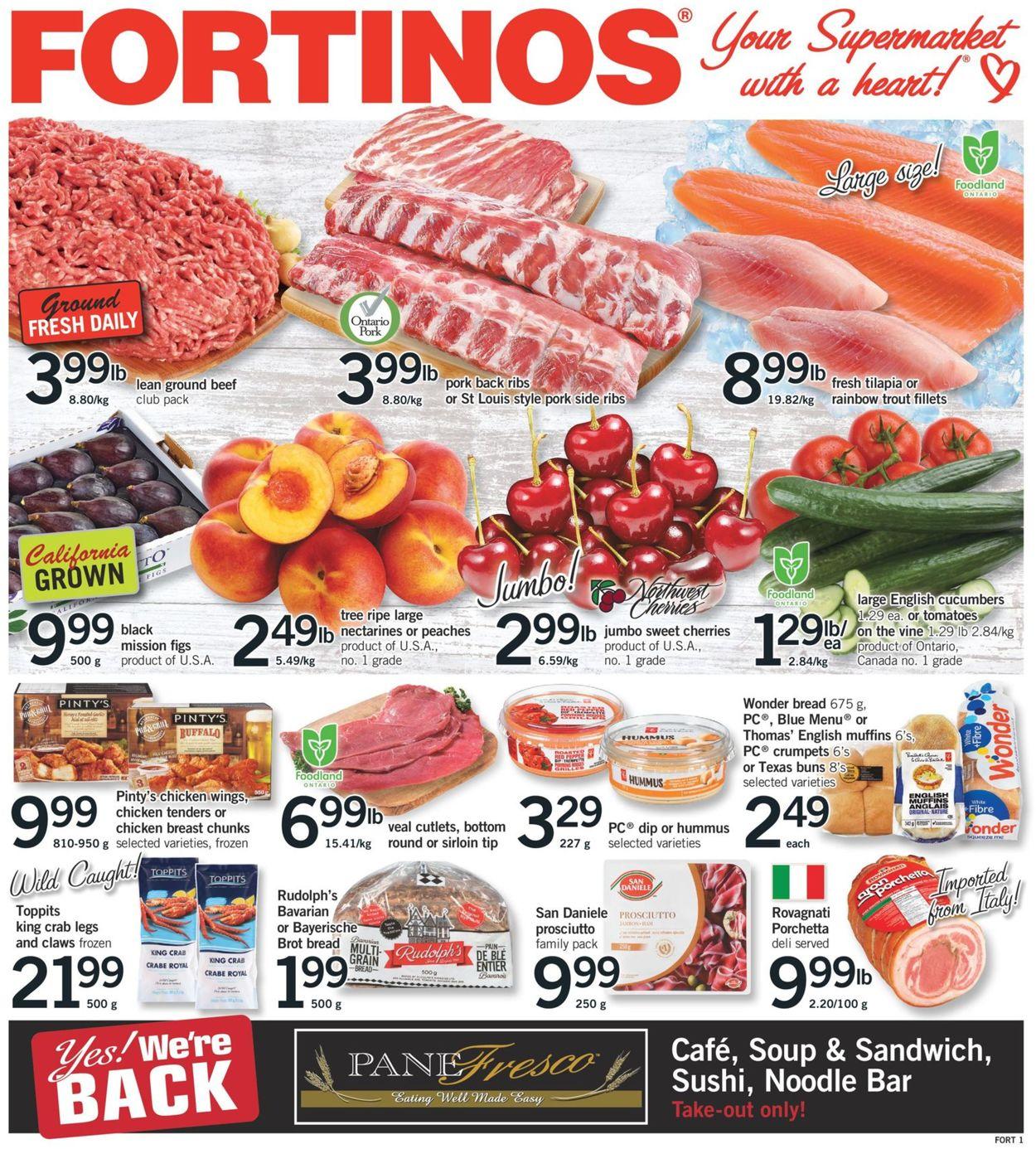Fortinos Flyer - 06/11-06/17/2020
