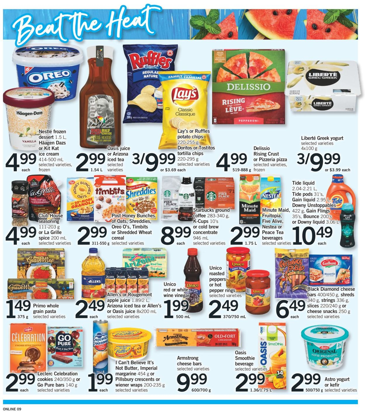 Fortinos Flyer - 06/25-06/30/2020 (Page 9)