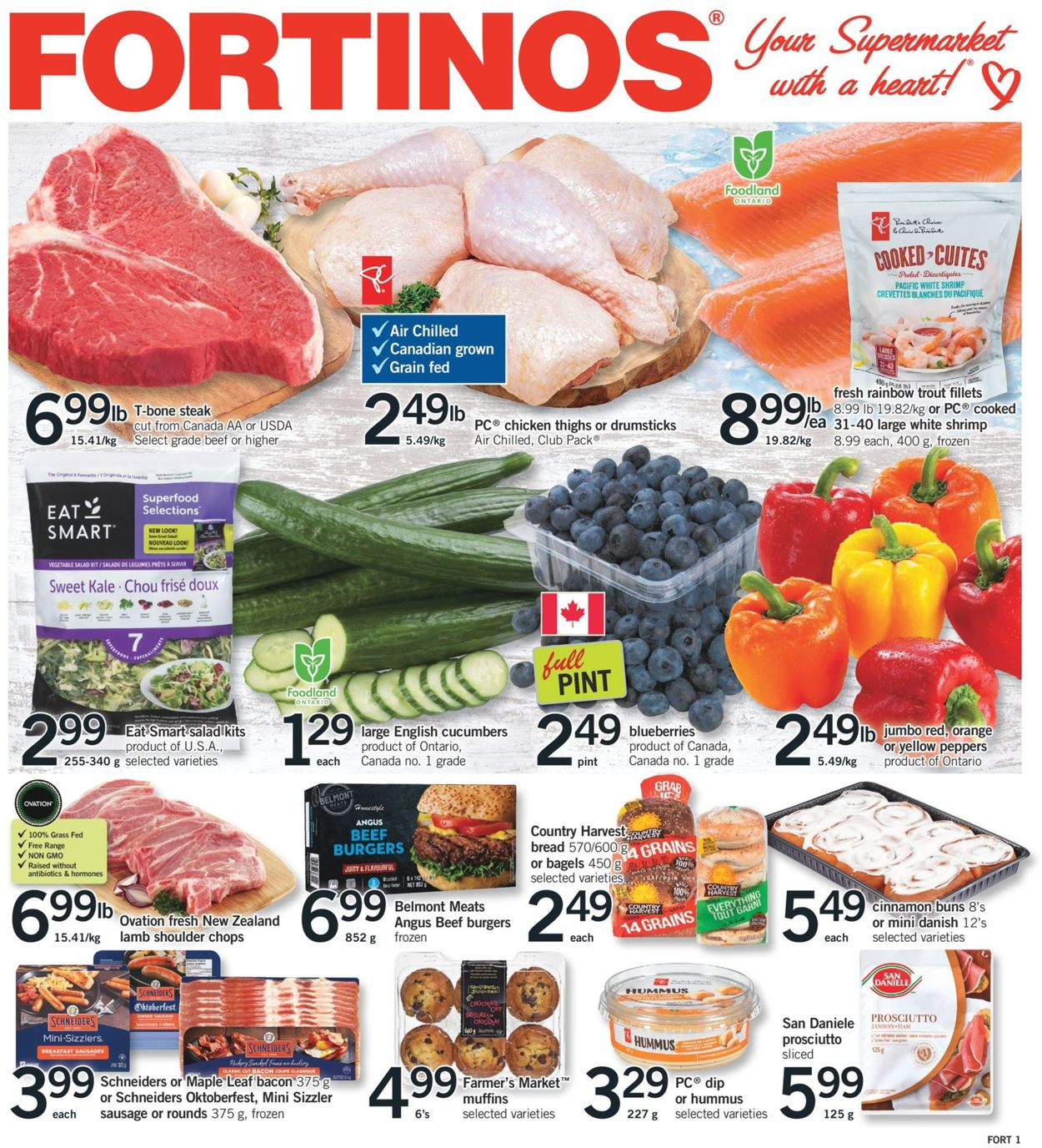 Fortinos Flyer - 07/23-07/29/2020