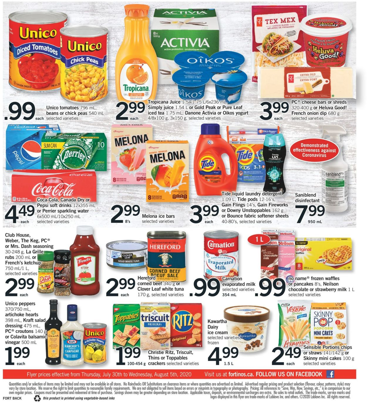 Fortinos Flyer - 07/30-08/05/2020 (Page 2)