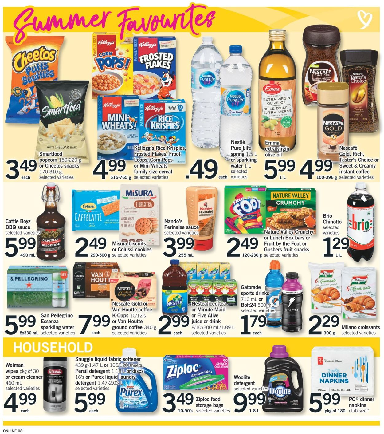 Fortinos Flyer - 07/30-08/05/2020 (Page 8)