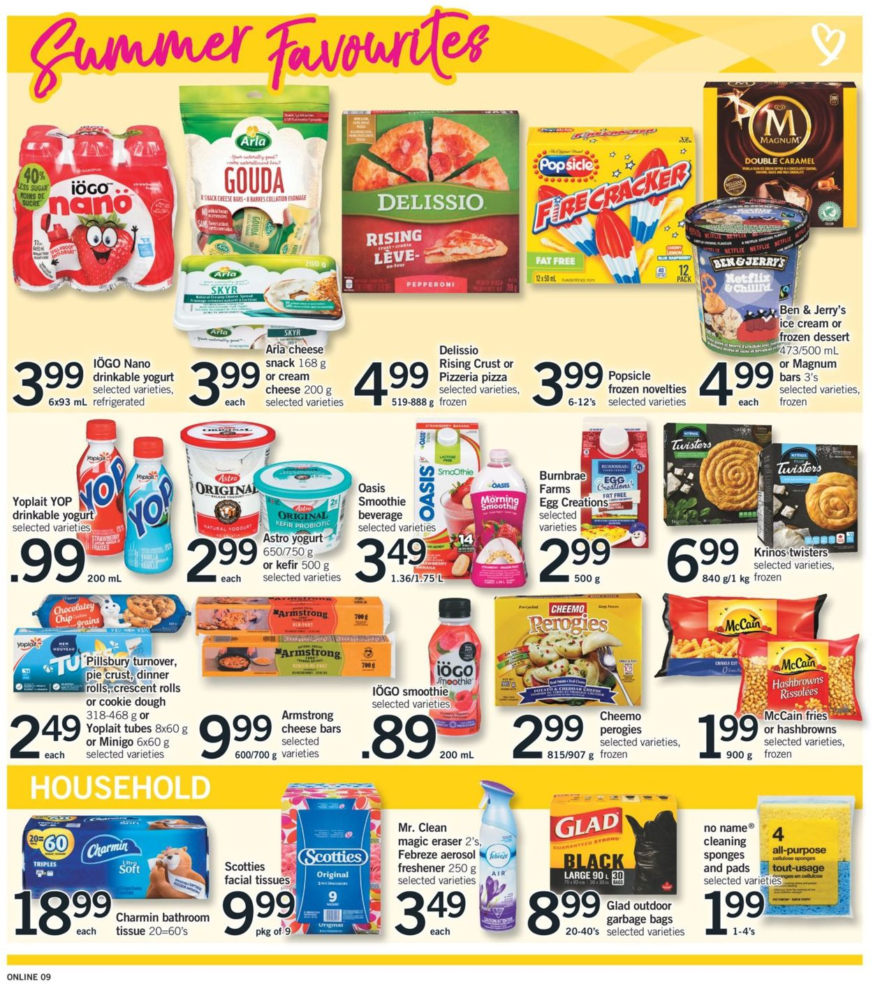 Fortinos Flyer - 07/30-08/05/2020 (Page 9)