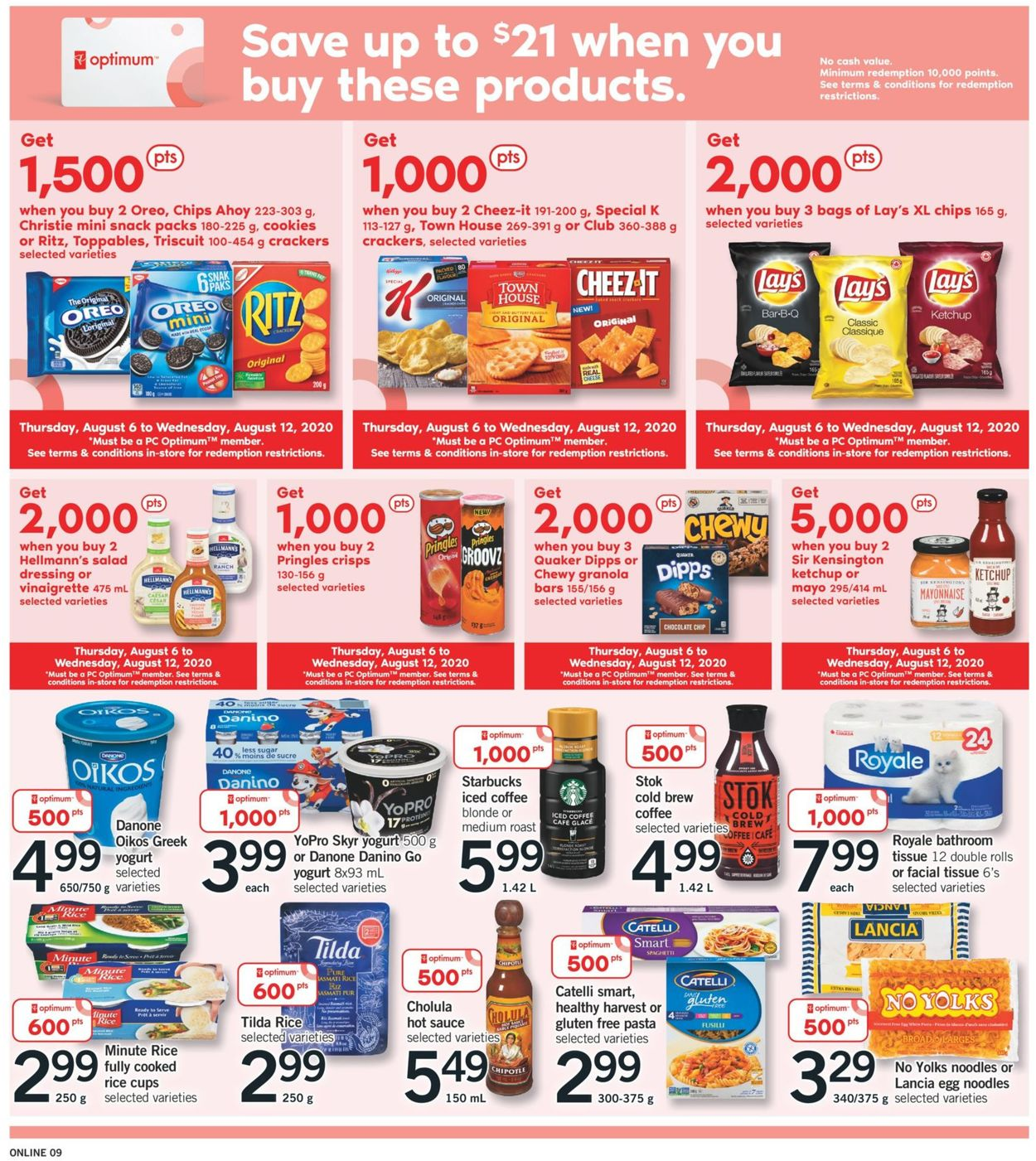 Fortinos Flyer - 08/06-08/12/2020 (Page 9)