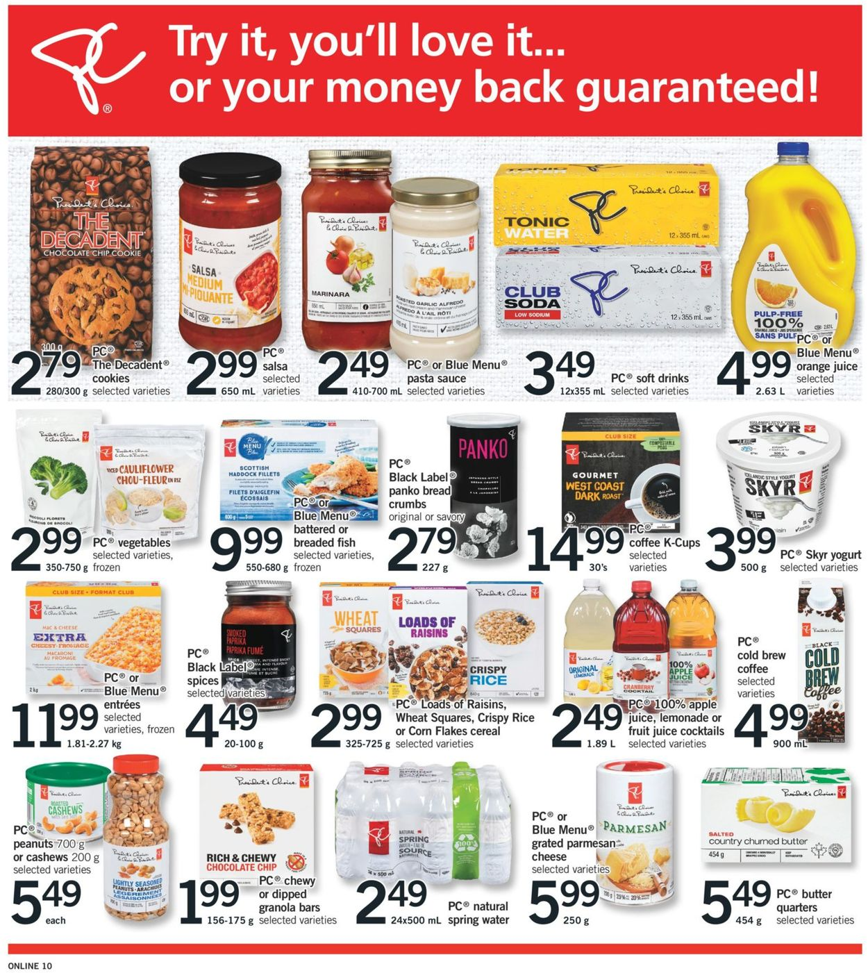 Fortinos Flyer - 08/06-08/12/2020 (Page 10)