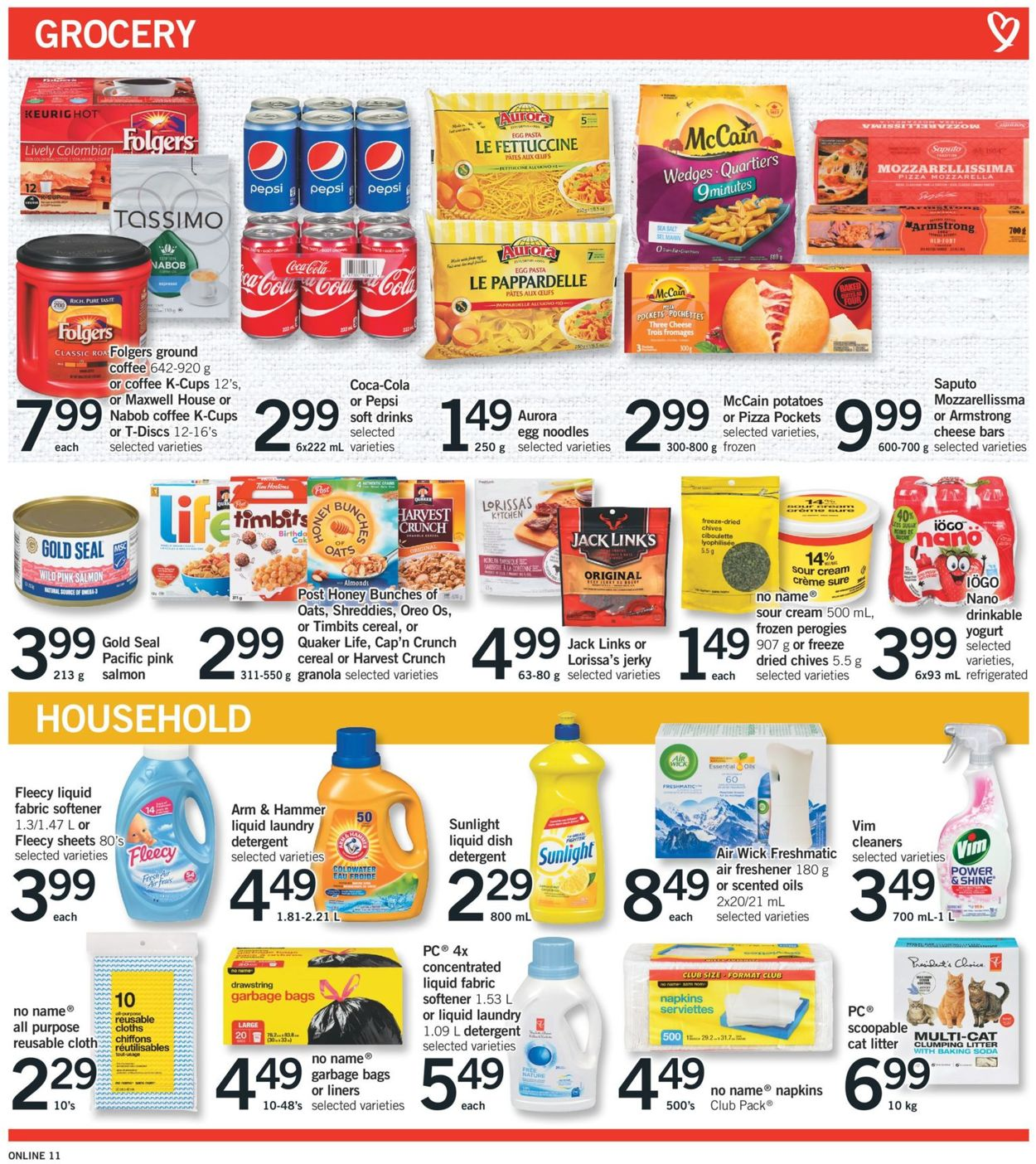 Fortinos Flyer - 08/06-08/12/2020 (Page 11)