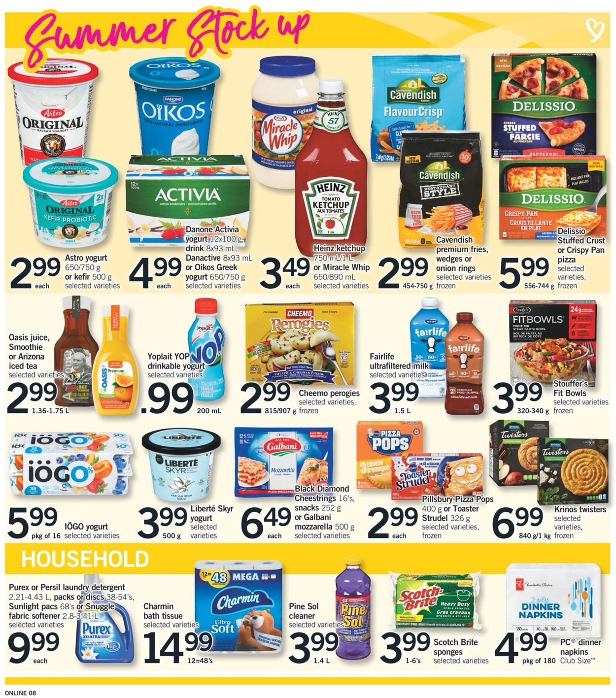 Fortinos Flyer - 08/20-08/26/2020 (Page 8)