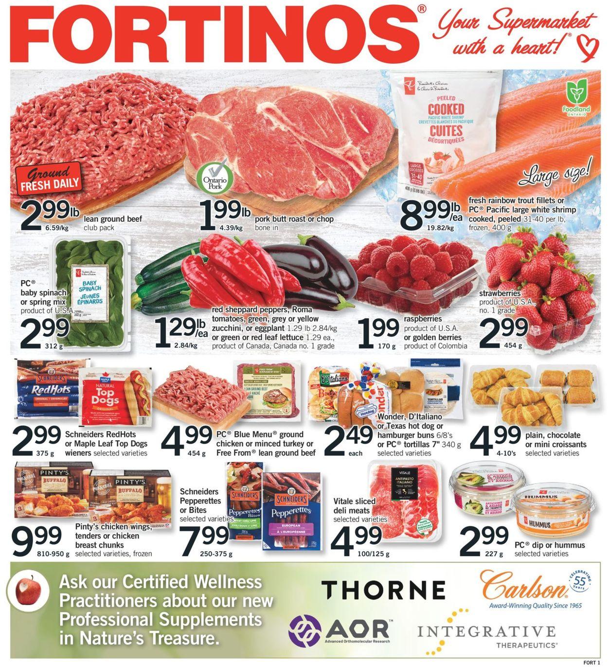 Fortinos Flyer - 08/27-09/02/2020