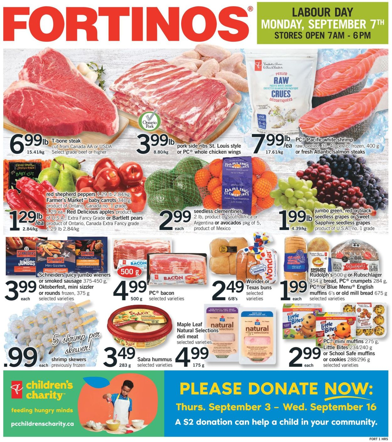 Fortinos Flyer - 09/03-09/09/2020