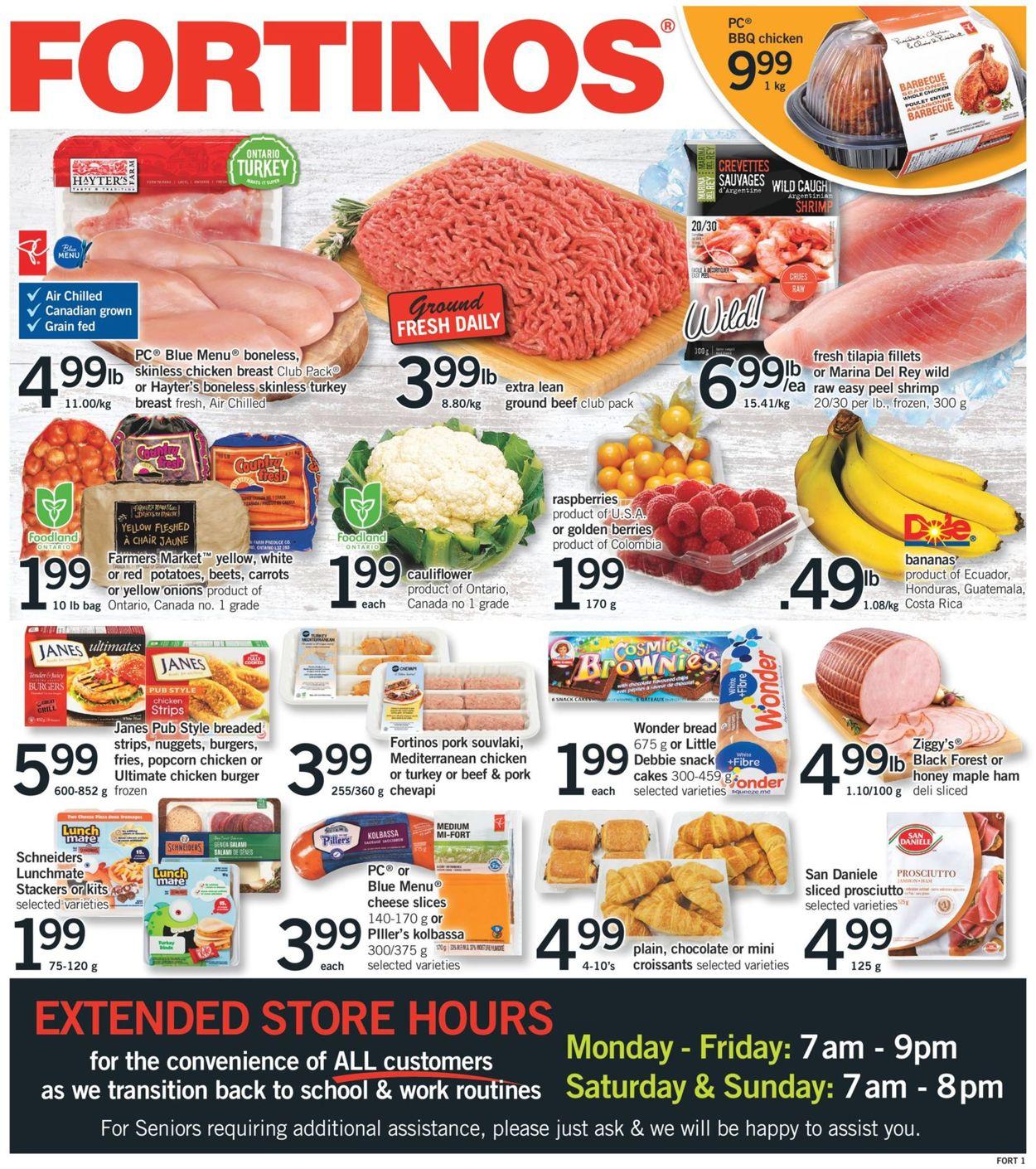 Fortinos Flyer - 09/10-09/16/2020