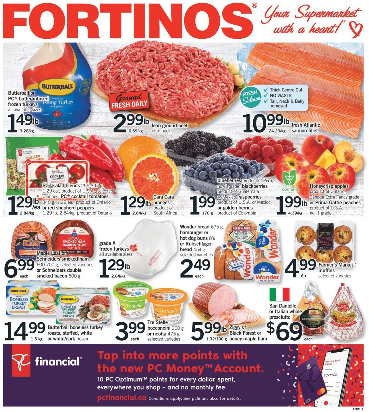 Fortinos Flyer - 09/24-09/30/2020