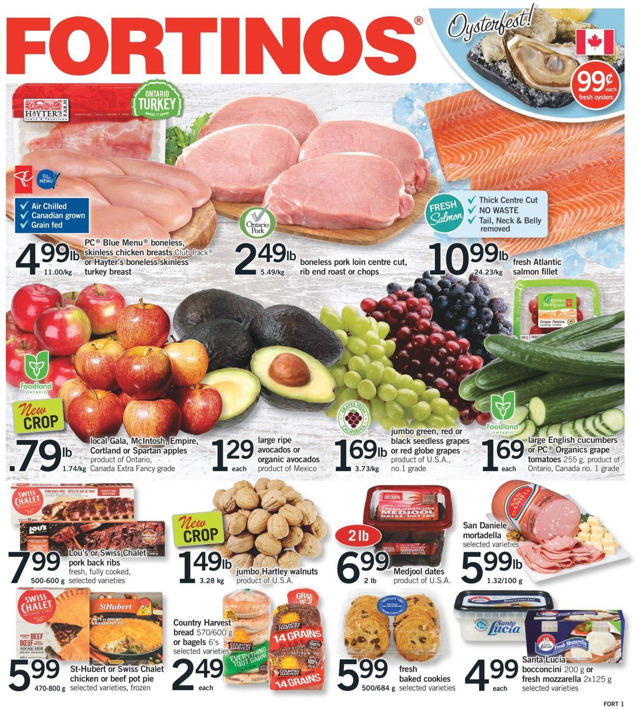 Fortinos Flyer - 10/15-10/21/2020