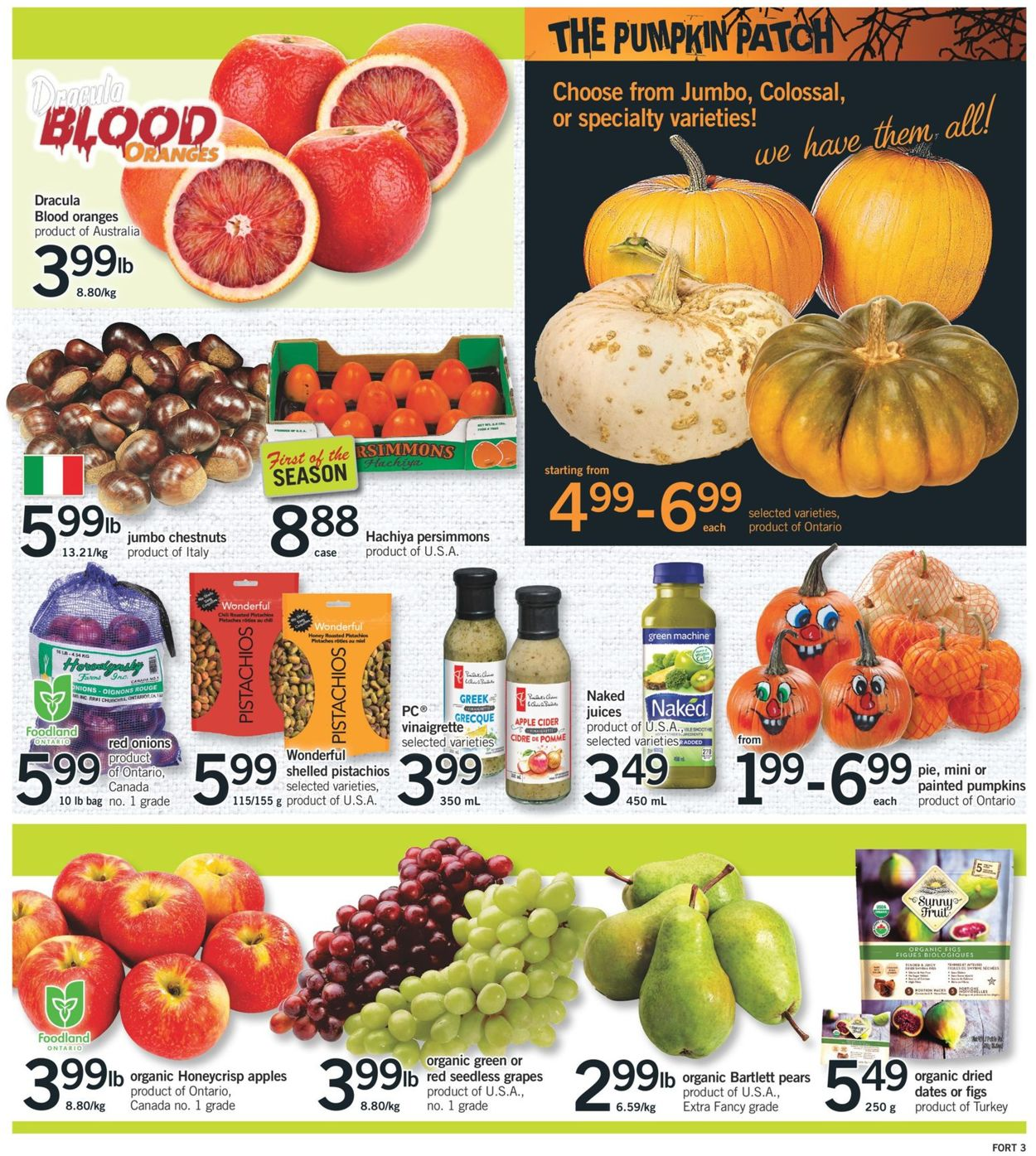 Fortinos Flyer - 10/22-10/28/2020 (Page 4)
