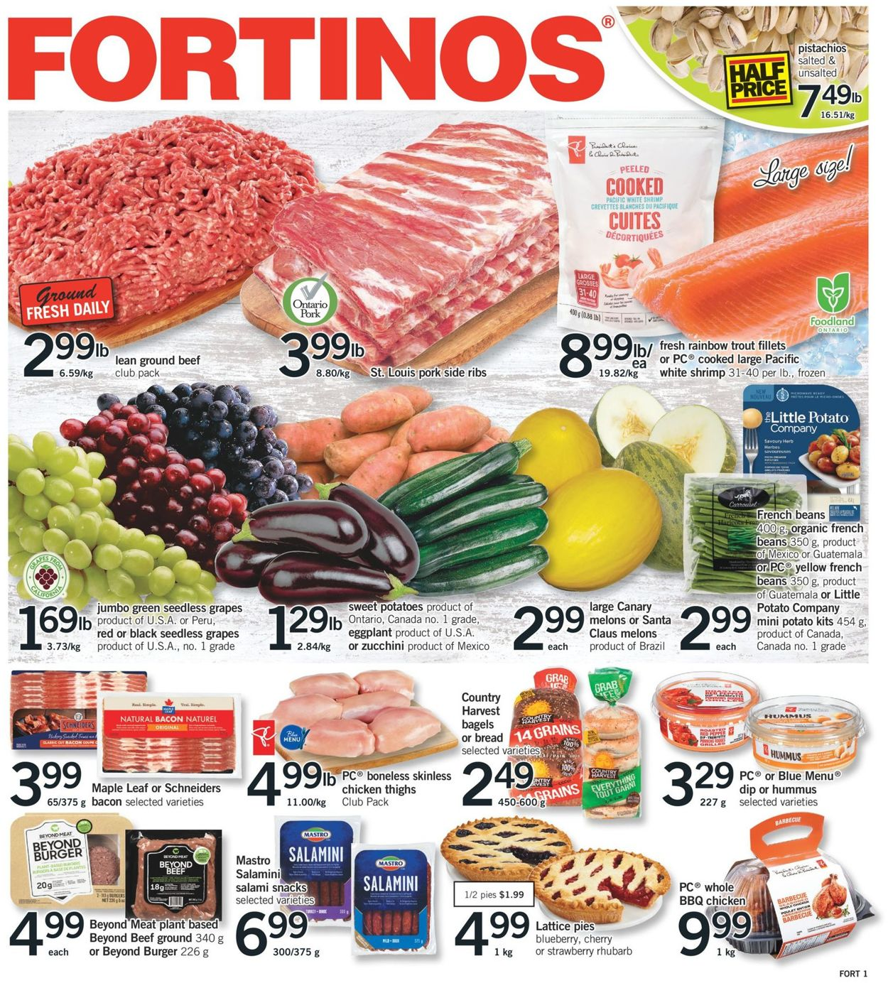 Fortinos Flyer - 10/29-11/04/2020