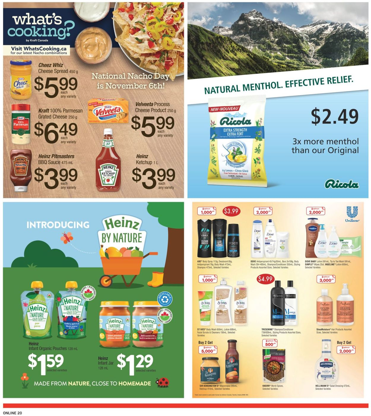 Fortinos Flyer - 11/05-11/11/2020 (Page 20)
