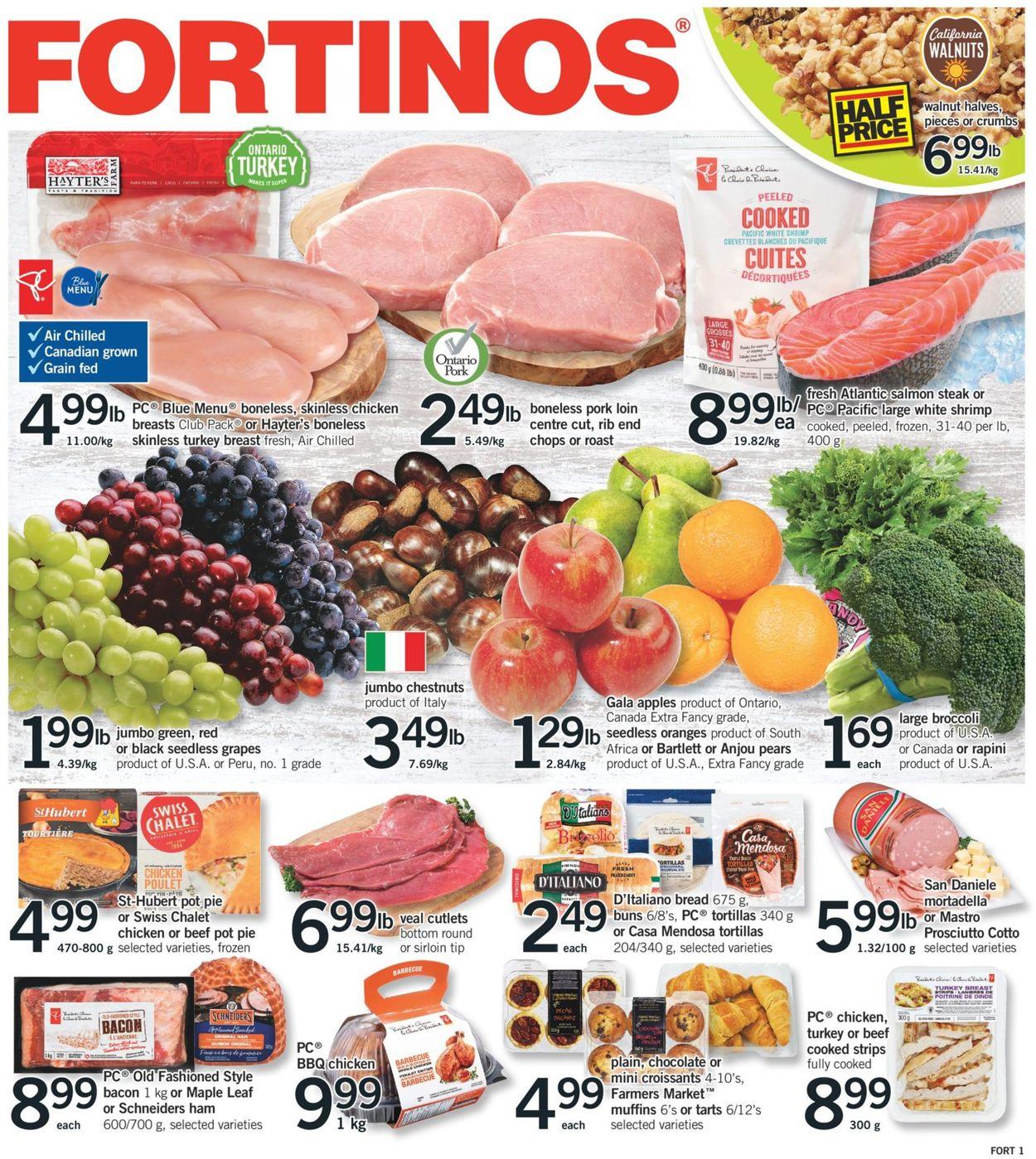 Fortinos Flyer - 11/12-11/18/2020