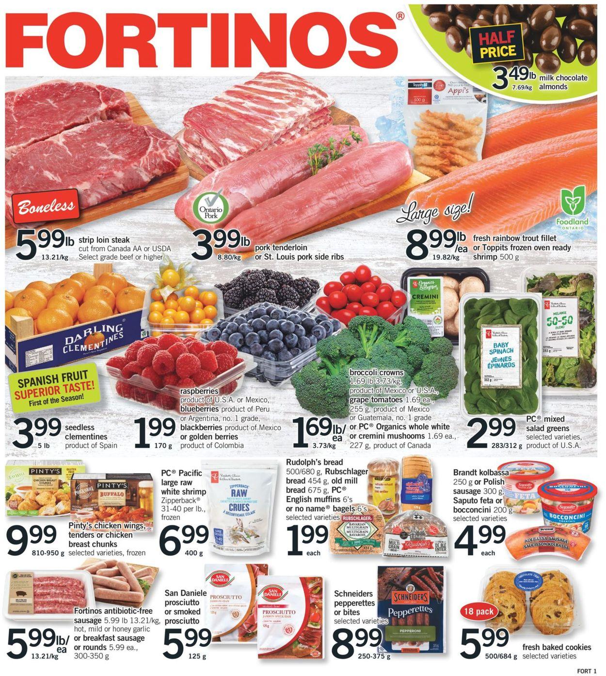Fortinos Black Friday 2020 Flyer - 11/19-11/25/2020
