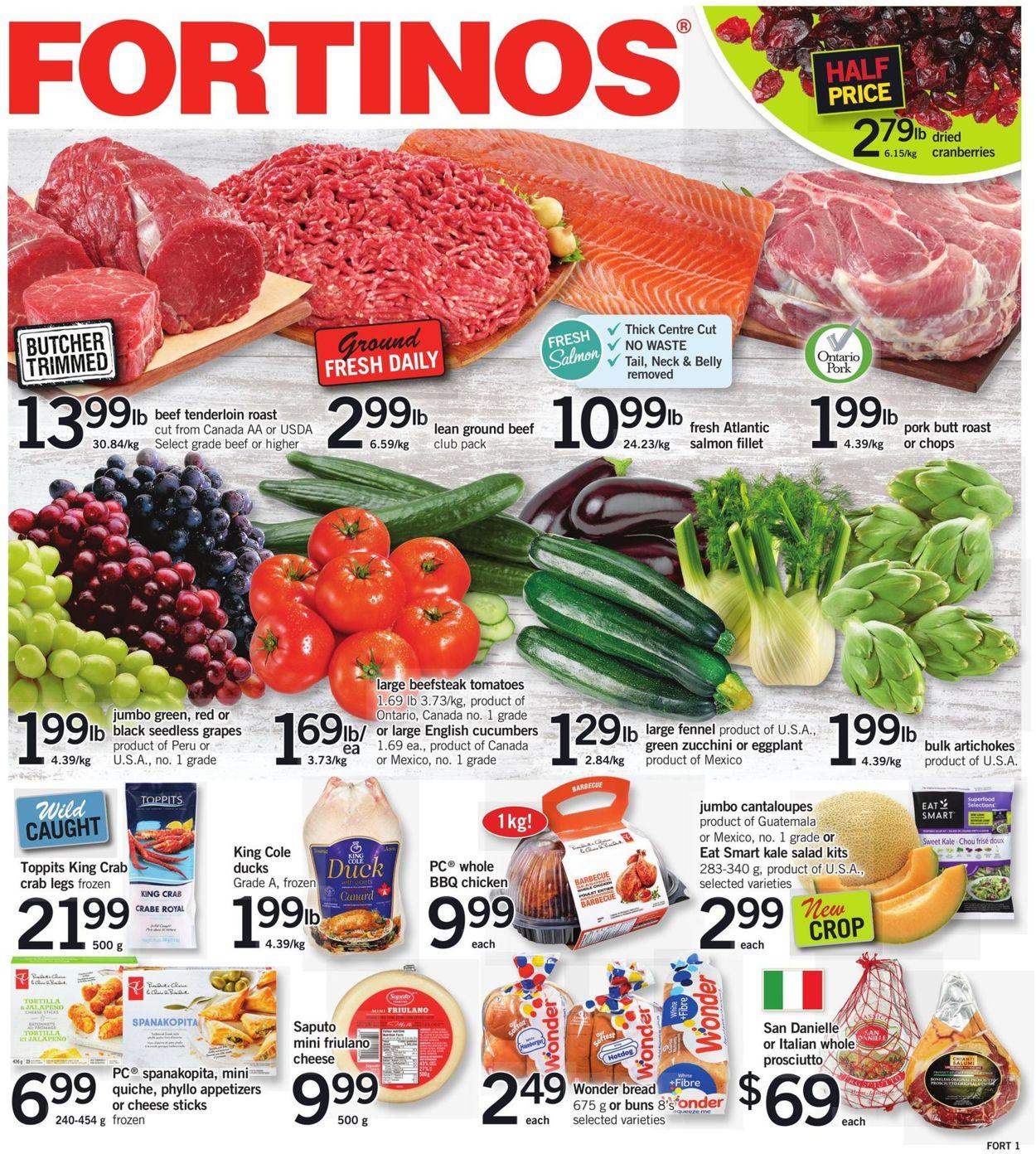 Fortinos - Black Friday 2020 Flyer - 11/26-12/02/2020