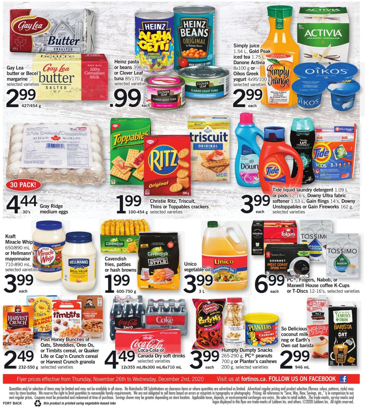 Fortinos - Black Friday 2020 Flyer - 11/26-12/02/2020 (Page 2)
