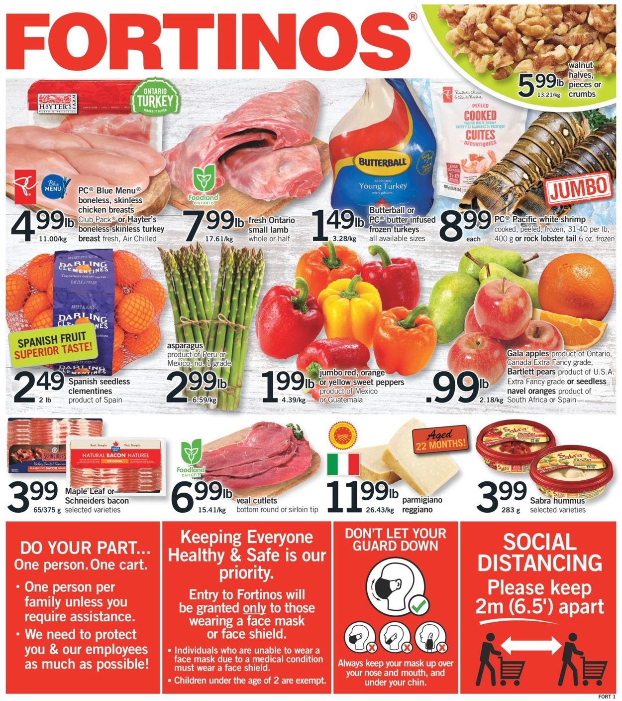 Fortinos- Holiday 2020 Flyer - 12/03-12/09/2020