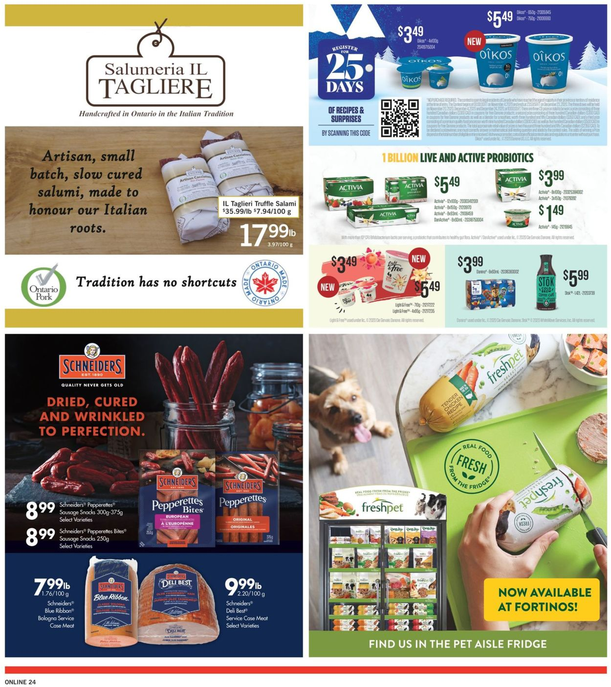 Fortinos- Holiday 2020 Flyer - 12/03-12/09/2020 (Page 24)