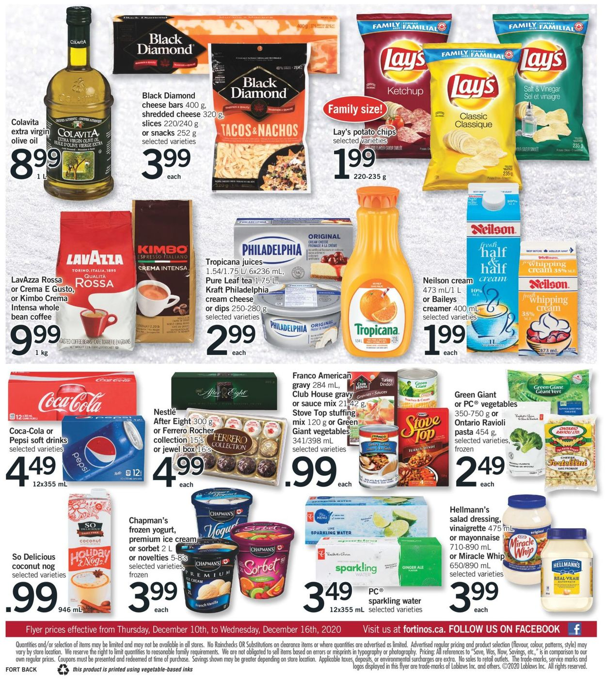 Fortinos- Holiday 2020 Flyer - 12/10-12/16/2020 (Page 2)