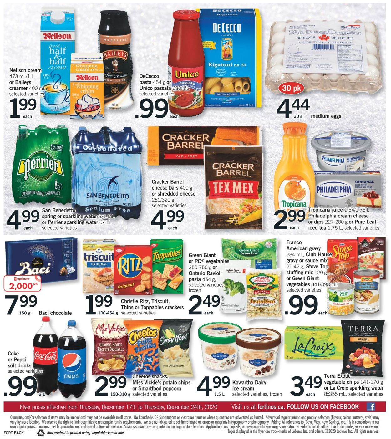 Fortinos- Holiday 2020 Flyer - 12/17-12/24/2020 (Page 2)
