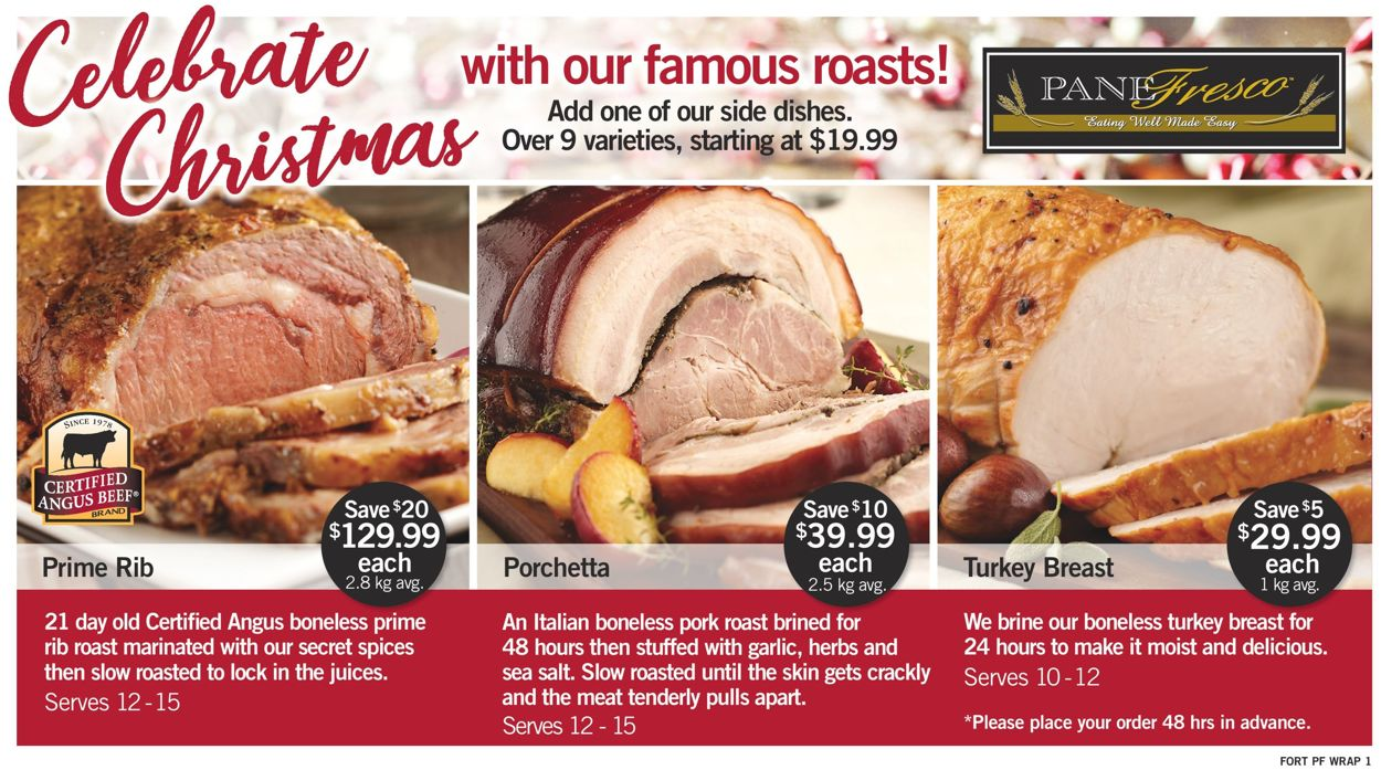 Fortinos- Holiday 2020 Flyer - 12/17-12/24/2020 (Page 3)