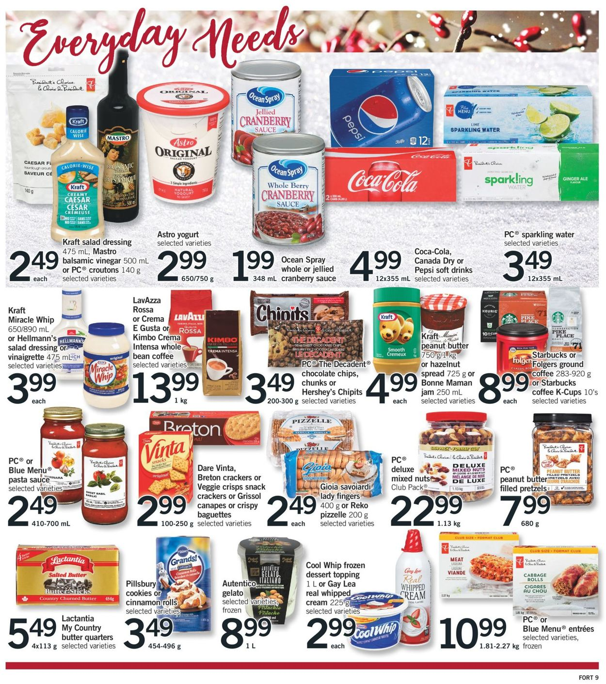 Fortinos- Holiday 2020 Flyer - 12/17-12/24/2020 (Page 17)