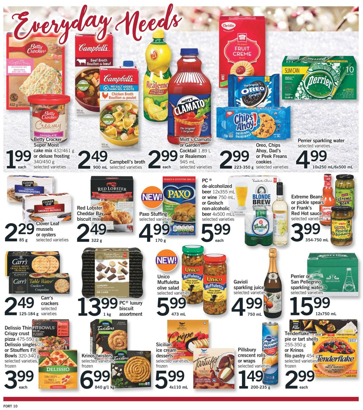 Fortinos- Holiday 2020 Flyer - 12/17-12/24/2020 (Page 18)