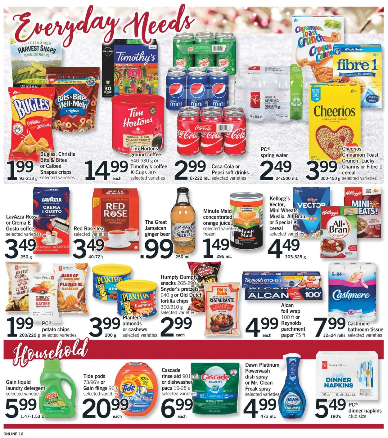 Fortinos- Holiday 2020 Flyer - 12/17-12/24/2020 (Page 21)
