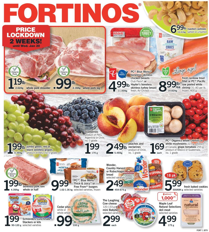 Fortinos Flyer - 01/07-01/13/2021