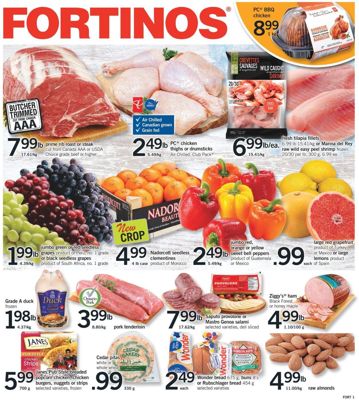 Fortinos Flyer - 01/21-01/27/2021
