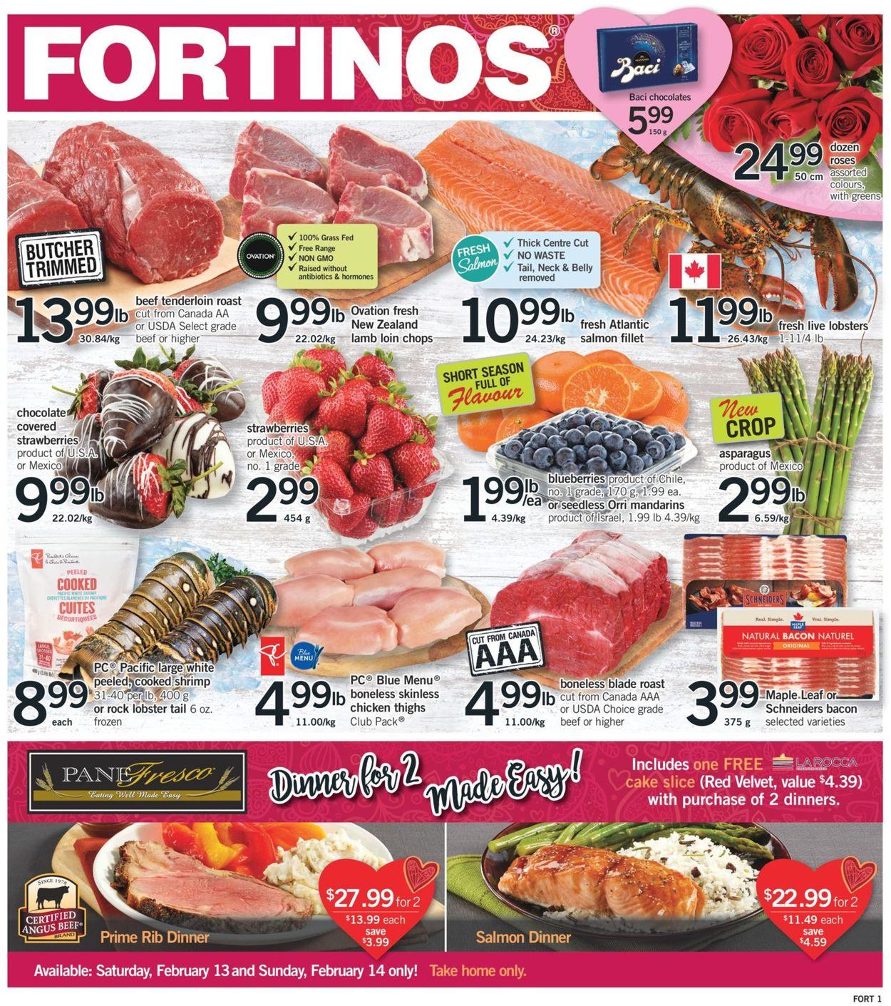 Fortinos Flyer - 02/11-02/17/2021