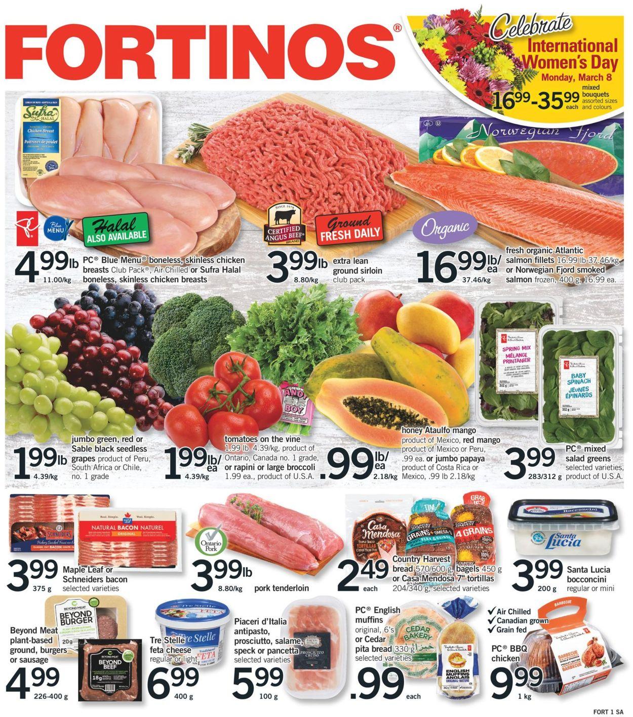 Fortinos Flyer - 03/04-03/10/2021