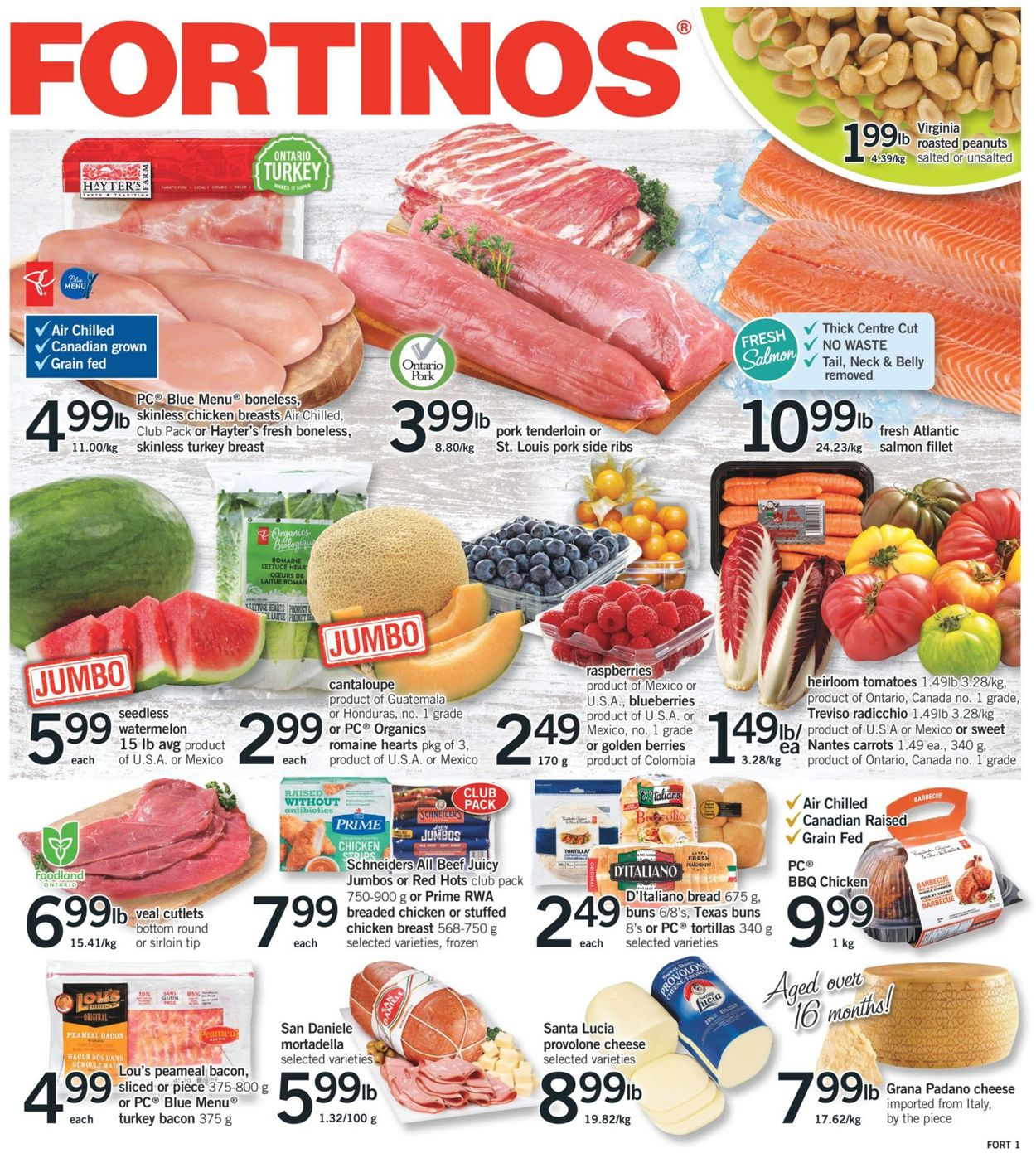 Fortinos Flyer - 04/22-04/28/2021