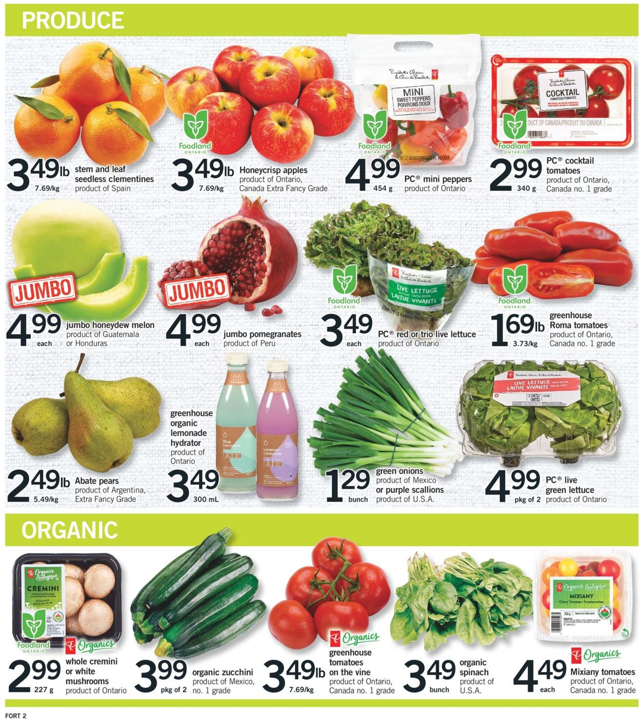 Fortinos Flyer - 04/22-04/28/2021 (Page 3)