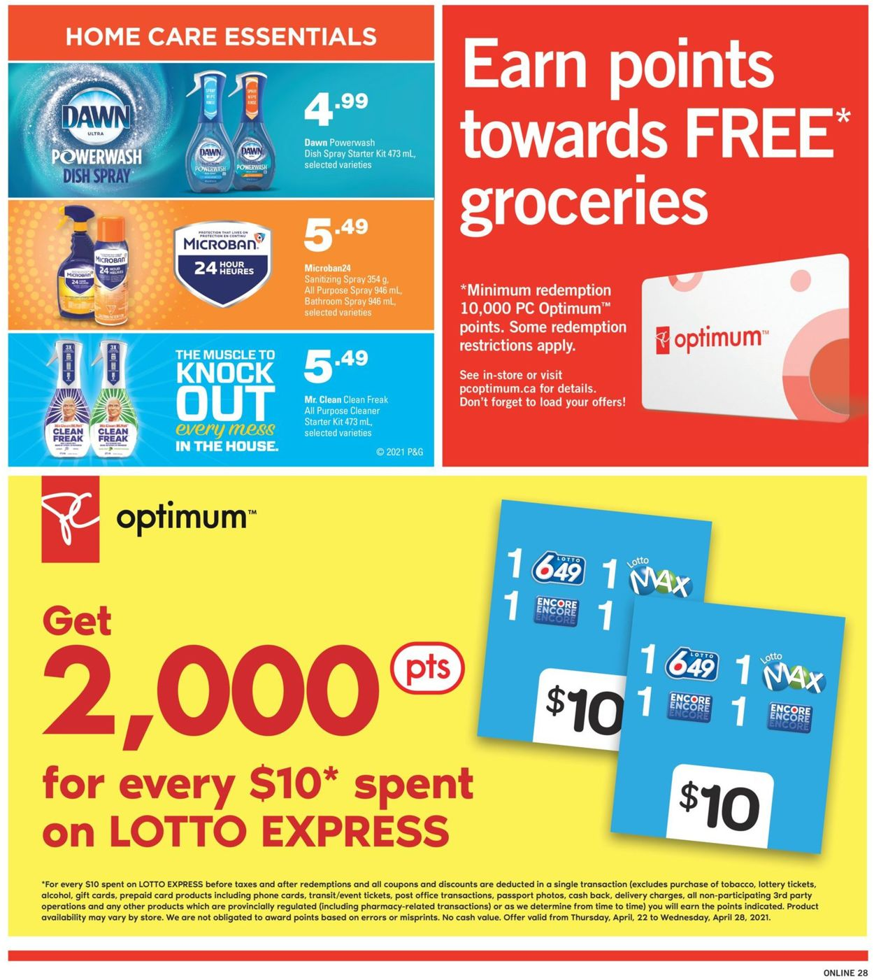 Fortinos Flyer - 04/22-04/28/2021 (Page 27)